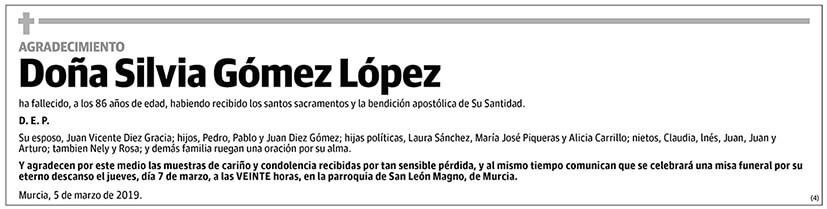 Silvia Gómez López