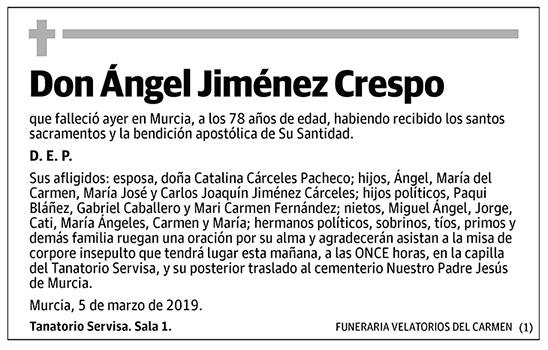 Ángel Jiménez Crespo
