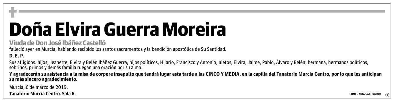 Elvira Guerra Moreira