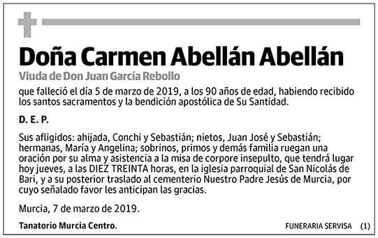 Carmen Abellán Abellán