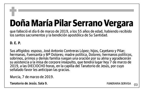 María Pilar Serrano Vergara