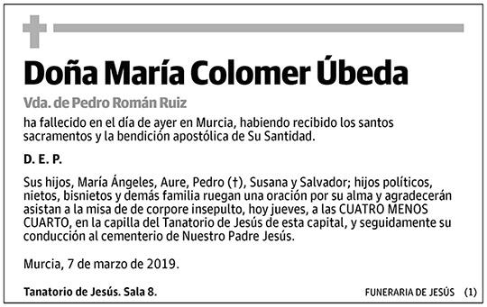 María Colomer Úbeda