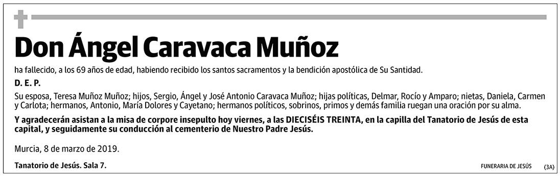 Ángel Caravaca Muñoz