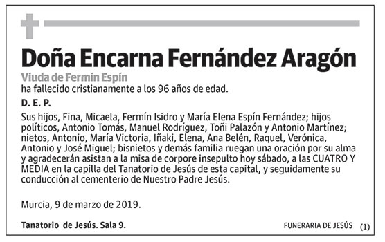 Encarna Fernández Aragón