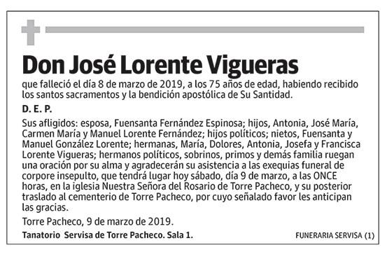 José Lorente Vigueras