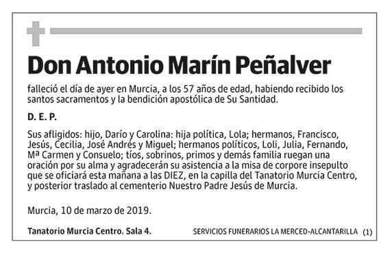 Antonio Marín Peñalver