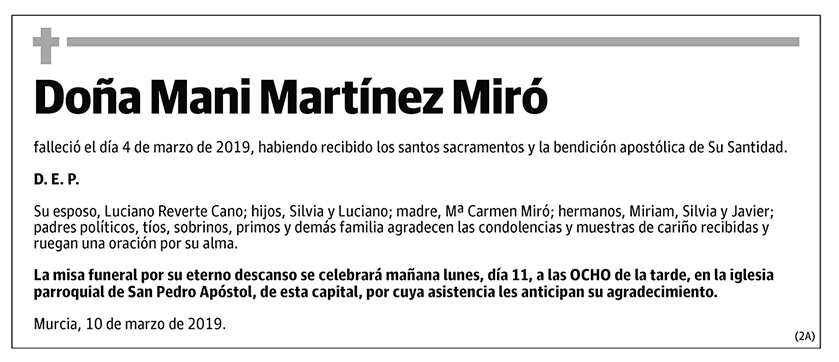 Mani Martínez Miró
