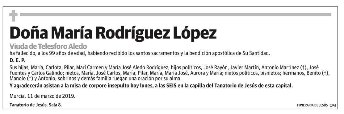María Rodríguez López
