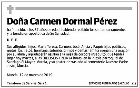 Carmen Dormal Pérez