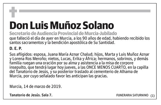 Luis Muñoz Solano