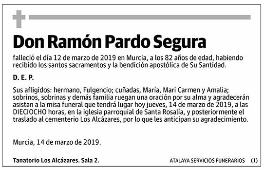 Ramón Pardo Segura
