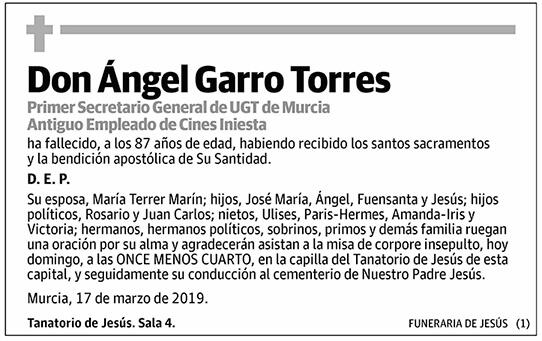 Ángel Garro Torres