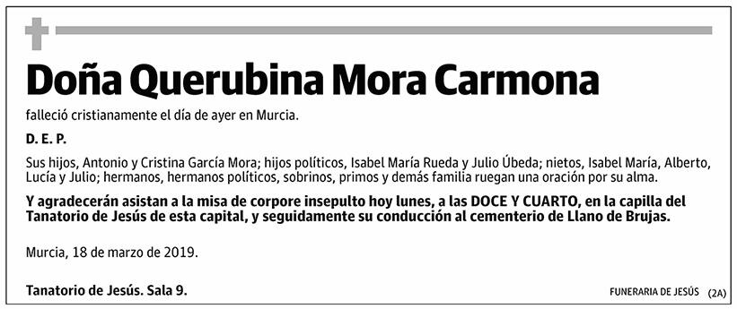 Querubina Mora Carmona