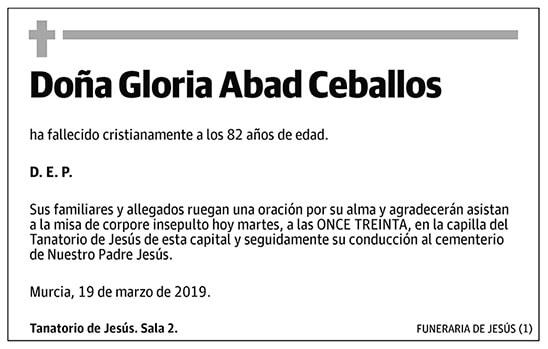 Gloria Abad Caballos
