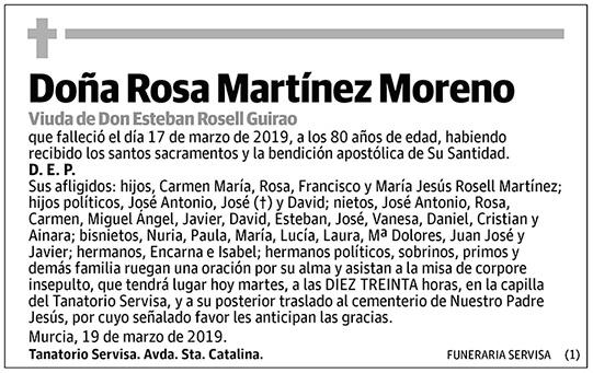 Rosa Martínez Moreno