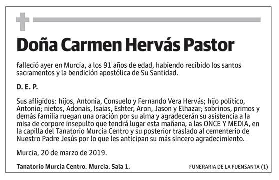 Carmen Hervás Pastor