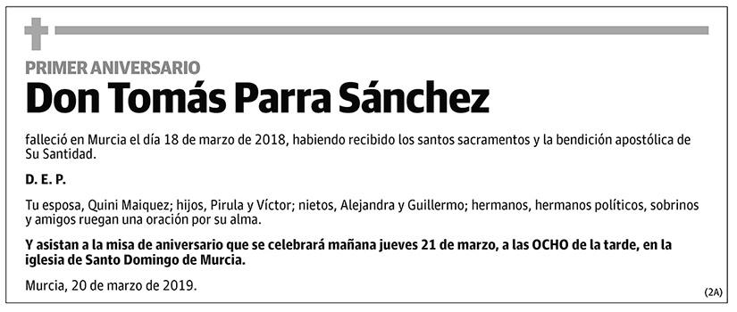 Tomás Parra Sánchez