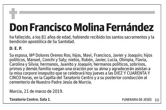 Francisco Molina Fernández