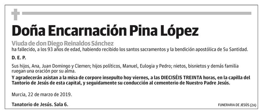 Encarnación Pina López