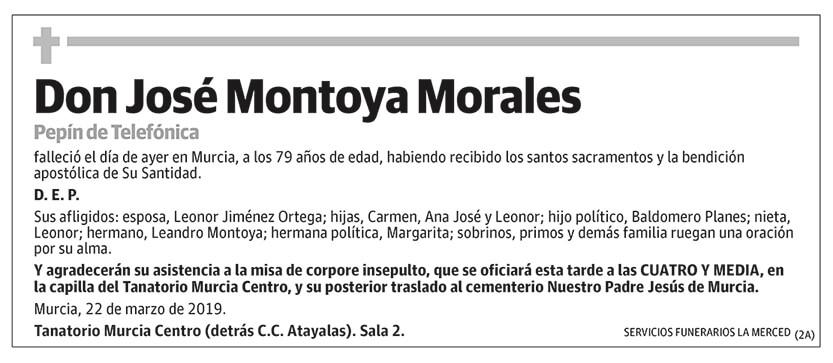 José Montoya Morales