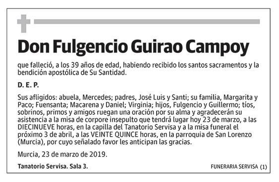 Fulgencio Guirao Campoy