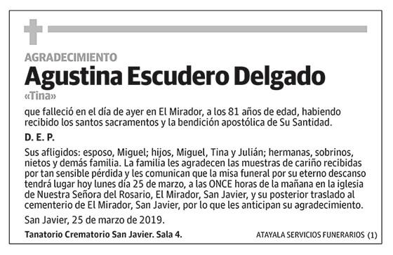 Agustina Escudero Delgado