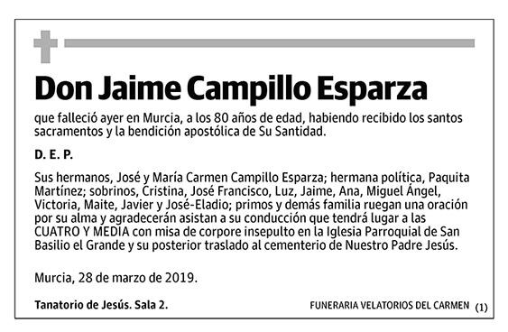 Jaime Campillo Esparza
