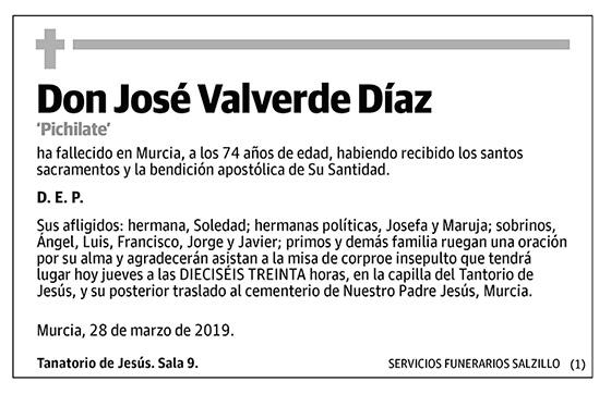 José Valverde Díaz