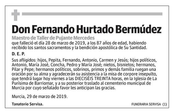 Fernando Hurtado Bermúdez