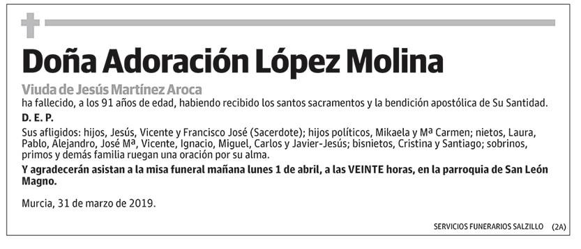 Adoración López Molina