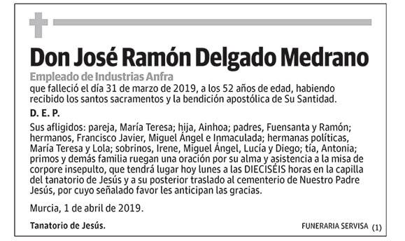 José Ramón Delgado Medrano
