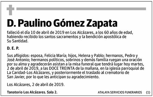 Paulino Gómez Zapata