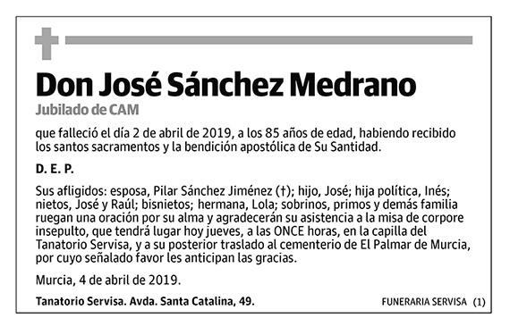 José Sánchez Medrano