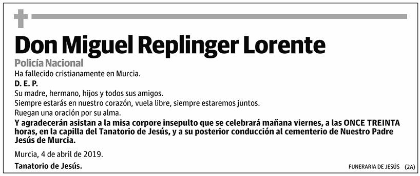 Miguel Replinger Lorente