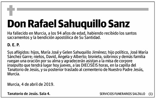 Rafael Sahuquillo Sanz