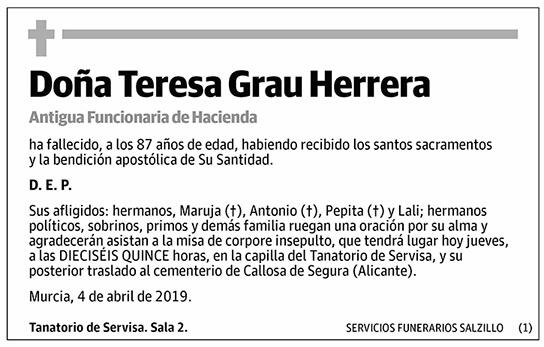 Teresa Grau Herrera