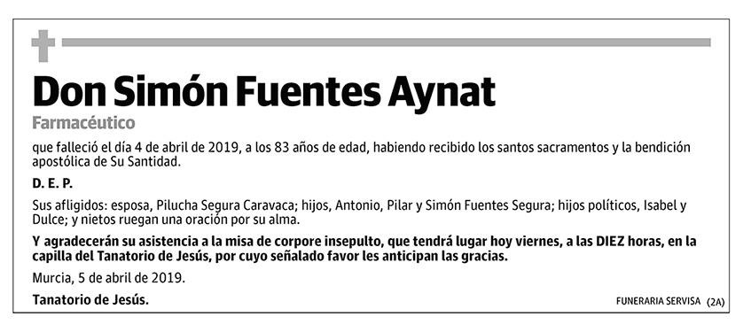 Simón Fuentes Aynat