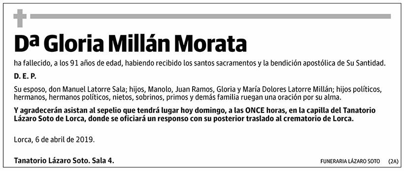 Gloria Millán Morata