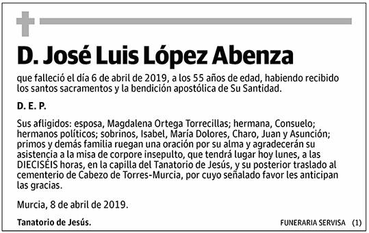 José Luis López Abenza