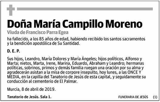María Campillo Moreno