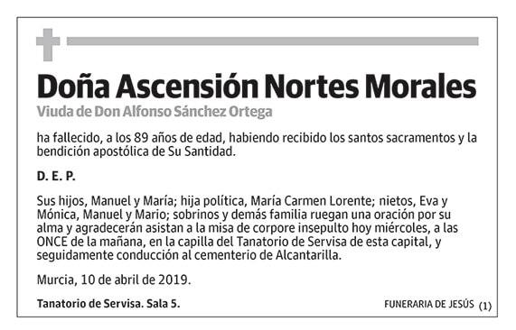 Ascensión Nortes Morales