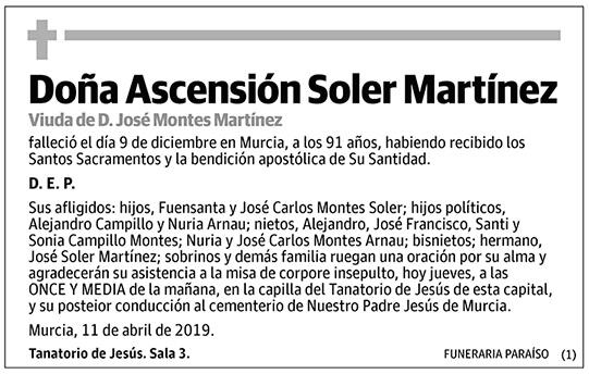 Ascensión Soler Martínez