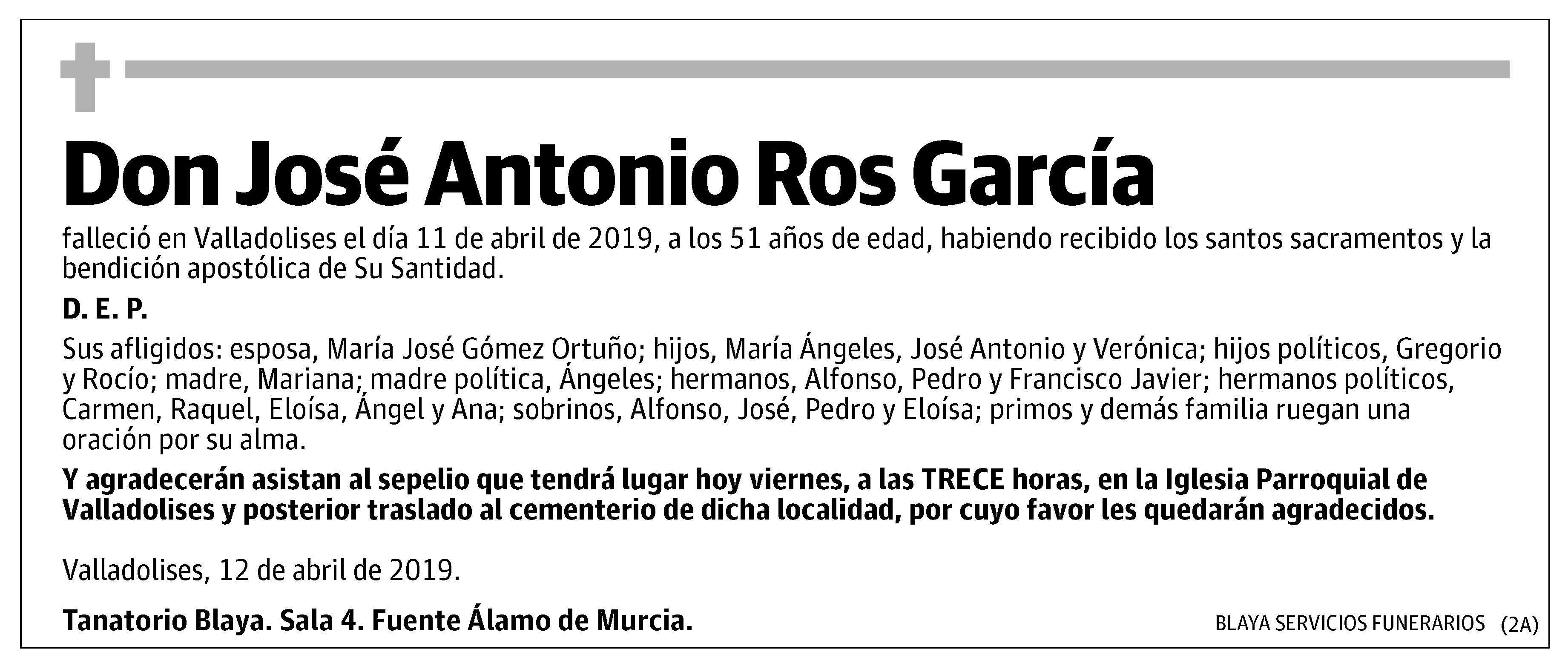 José Antonio Ros García