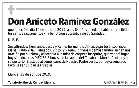 Aniceto Ramírez González