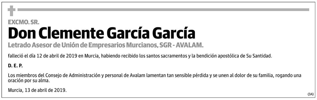 Clemente García García