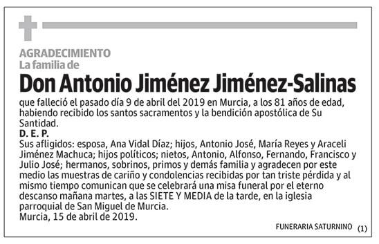 Antonio Jiménez-Salinas