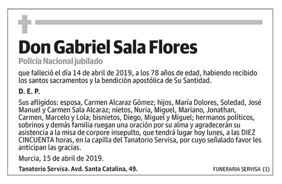Gabriel Sala Flores