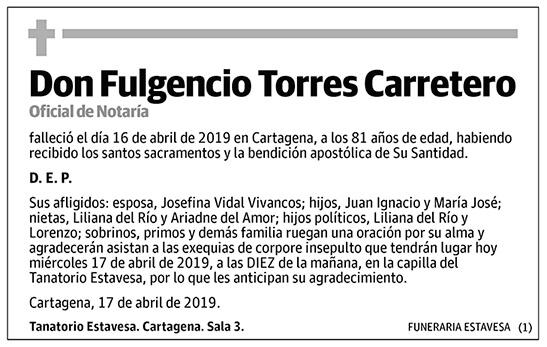 Fulgencio Torres Carretero