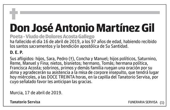 José Antonio Martínez Gil