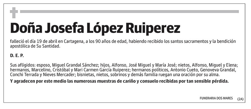 Josefa López Ruiperez